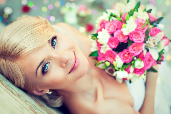 Traumfrisur am Tag Ihrer Hochzeit